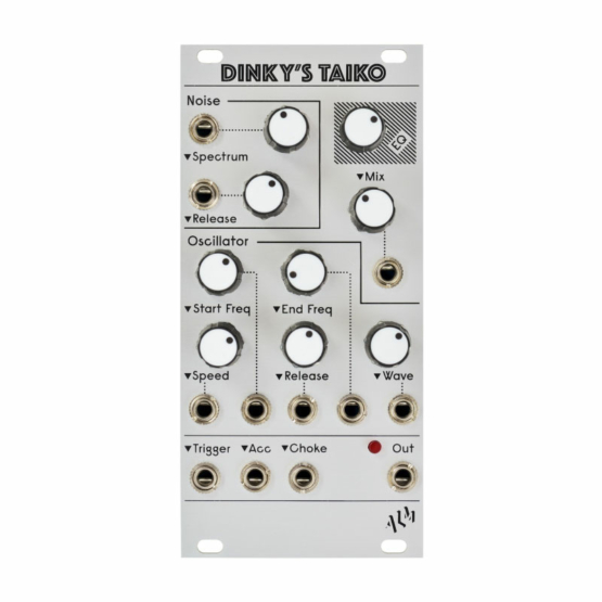 ALM Busy Circuits Dinkys Taiko front 555x555 ALM Busy Circuits Dinky's Taiko