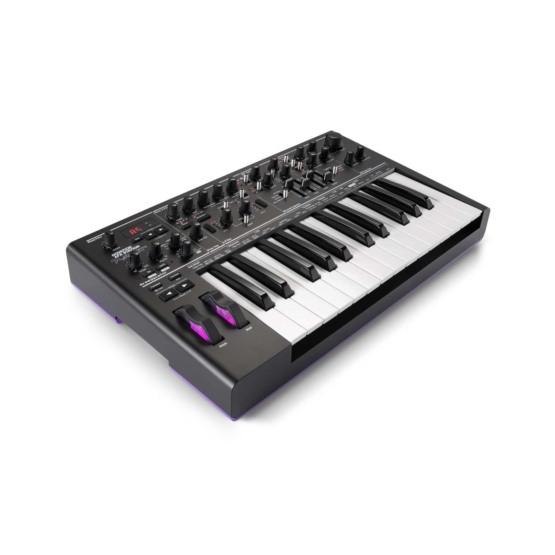 Novation Bass AFX Station II Special Edition angle 555x555 Novation Bass Station II AFX Special Edition