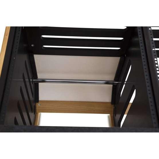 Zaor MAESTRO 24 12 Oak Black rack 555x555 Zaor MAESTRO 24+12 Oak Black