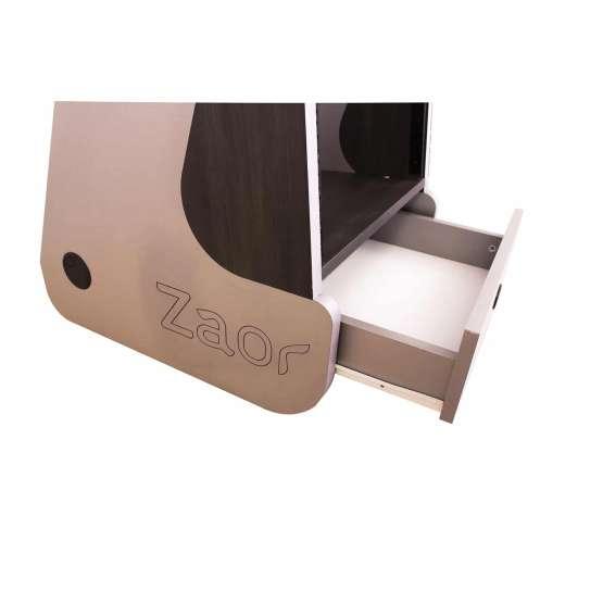 Zaor Miza Rack 12 MKII Grey Wenge drawer 555x555 Zaor MIZA Rack 12 MKII Grey Wengé