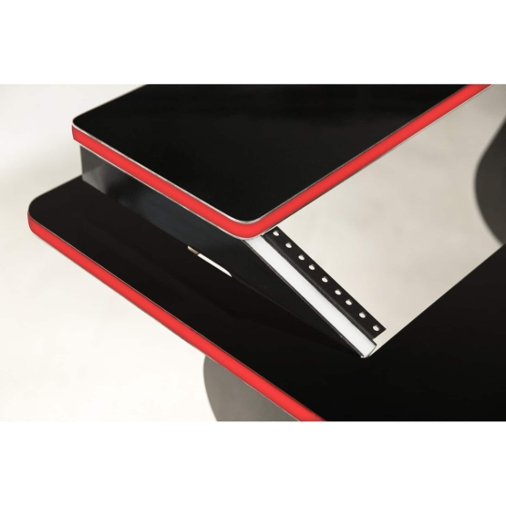 Zaor VELA R 1700 Black Gloss Soul angle top red 555x555 Zaor VELA R Black Gloss Soul