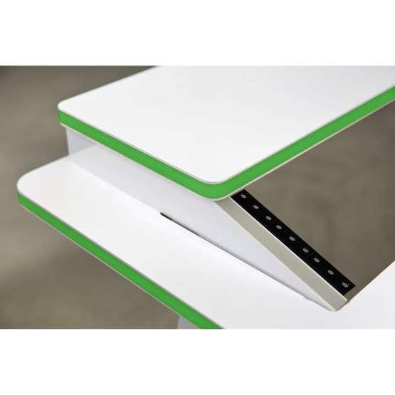 Zaor VELA R 1700 White Gloss Soul angle top green 555x555 Zaor VELA R White Gloss Soul