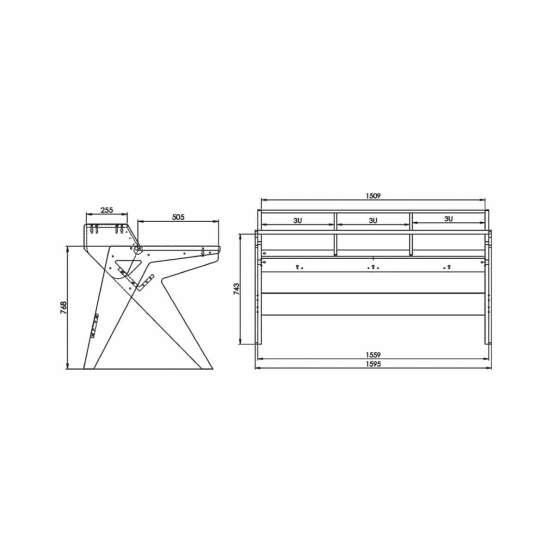 Zaor Vision W technical drawings 555x555 Zaor Vision W