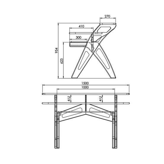 Zaor YESK Technical Drawings 555x555 Zaor YESK Jungle Grey