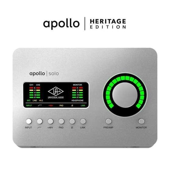 Universal Audio Apollo Solo USB Heritage Edition 555x555 Universal Audio Apollo Solo USB   Heritage Edition