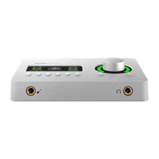 Universal Audio Apollo Solo USB Heritage Edition back view 555x555 Universal Audio Apollo Solo USB   Heritage Edition