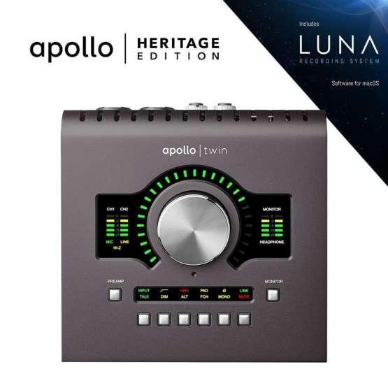 Universal Audio Apollo Twin MkII DUO Heritage Edition 555x555 Universal Audio Apollo Twin MkII Duo   Heritage Edition