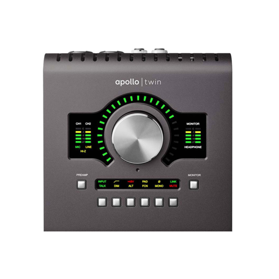 Universal Audio Apollo Twin MkII DUO Heritage Edition top 555x555 Universal Audio Apollo Twin MkII Duo | Heritage Edition