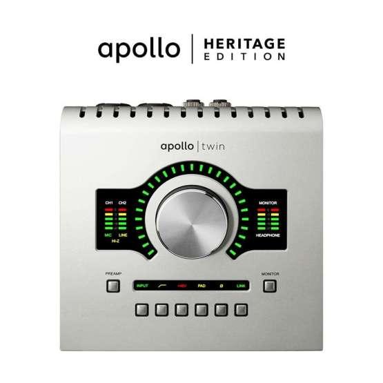 Universal Audio Apollo Twin USB Heritage Edition 555x555 Universal Audio Apollo Twin USB   Heritage Edition