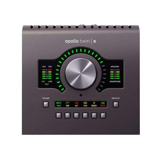 Universal Audio Apollo Twin X DUO Heritage Edition top view 555x555 Universal Audio Apollo Twin X Quad | Heritage Edition