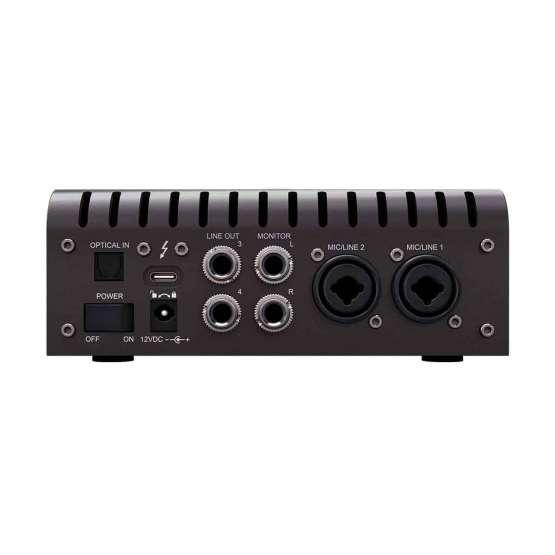 Universal Audio Apollo Twin X QUAD Heritage Edition back panel 555x555 Universal Audio Apollo Twin X Quad | Heritage Edition