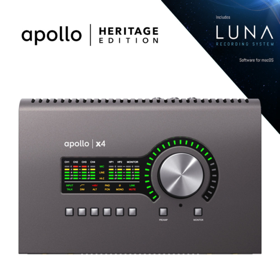 Universal Audio Apollo x4 Heritage Edition 555x555 Universal Audio Apollo x4 | Heritage Edition