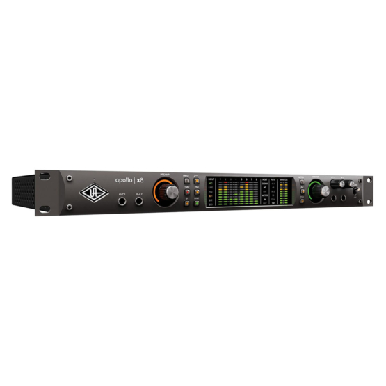 Universal Audio Apollo x8 Heritage Edition angle 555x555 Universal Audio Apollo x8 | Heritage Edition