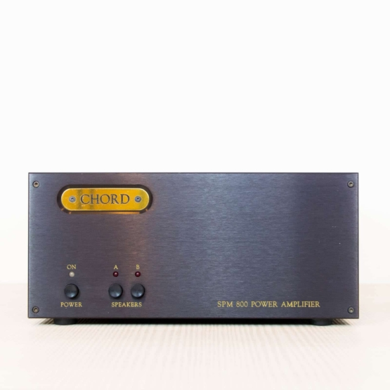 Chord SPM 800 Power Amp front 555x555 Chord Power Amp SPM 800 (used)
