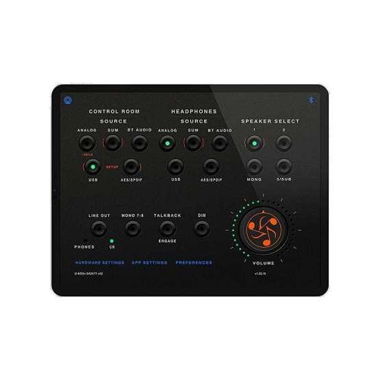 Dangerous Music D BOX plus control 555x555 Dangerous Music D BOX+