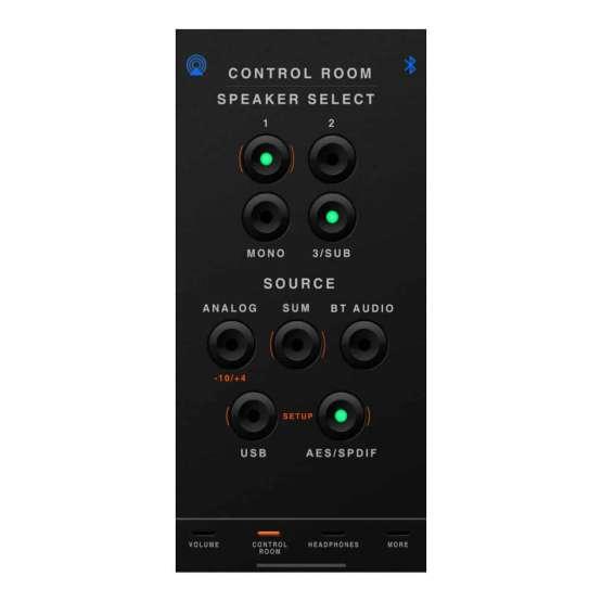 Dangerous Music D BOX plus control room detail 555x555 Dangerous Music D BOX+