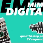 Mimetic Digitalis 16-step CV sequencer tutorial and demo
