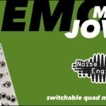 Muta Jovis demo & jam: 4-switch utility module for Eurorack synths