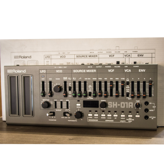 Roland SH 01A Boutique usato used angle 555x555 Roland SH 01A Boutique Limited Edition (used)
