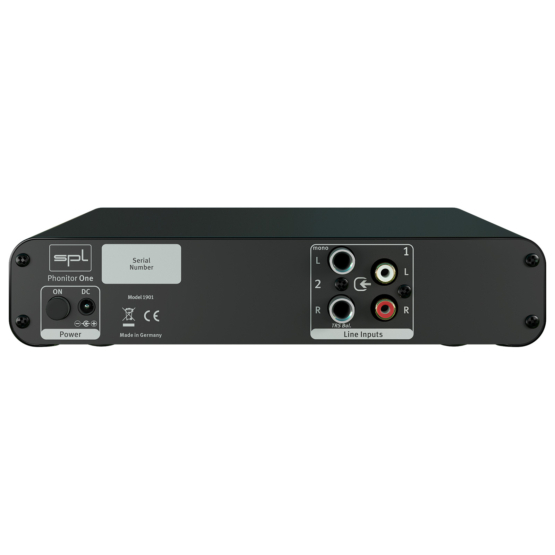 SPL Phonitor One Black back panel 555x555 SPL Phonitor One (Black)