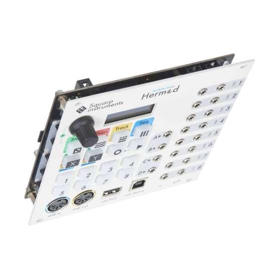 Squarp Instruments Hermod white angle 555x555 Squarp Hermod Modular Brain (White)