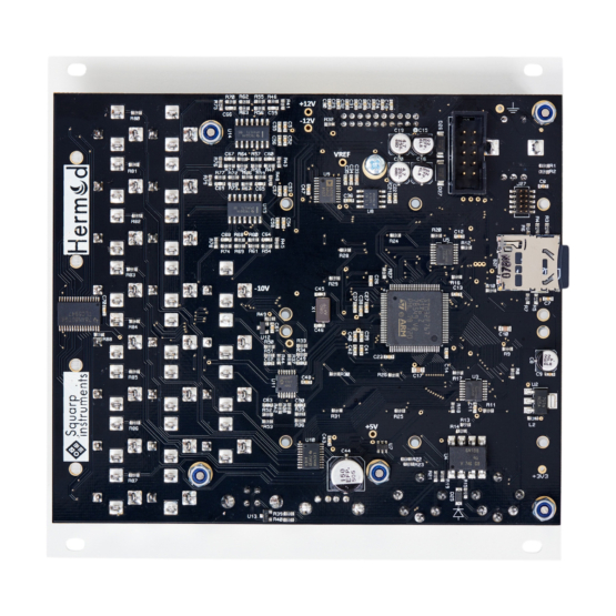 Squarp Instruments Hermod white back 555x555 Squarp Hermod Modular Brain (White)