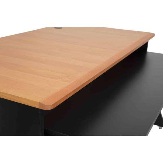 Zaor MIZA M Flex Black Cherry desk detail 555x555 Zaor MIZA M Flex Black/Cherry