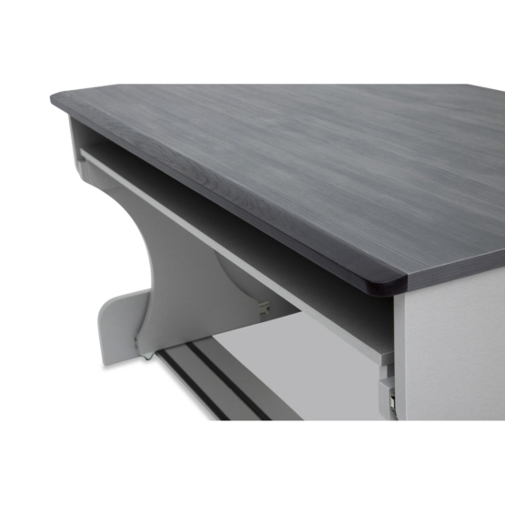 Zaor MIZA M Flex Grey Wenge front detail 555x555 Zaor MIZA M Flex – Grey/Wengé